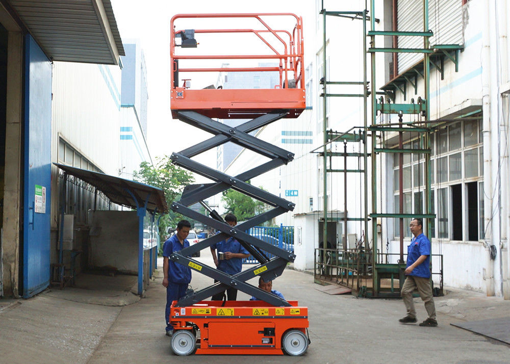 Aerial Maintenance Scissor Lift Extension Platform Self Propelled Lift Table